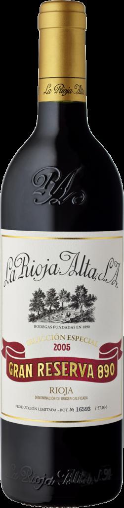 """El cuarto vino mejor clasificado en 2018 según la guía Parker es un Gran Reserva de la bodega """"La Rioja Alta"""" de Haro."""