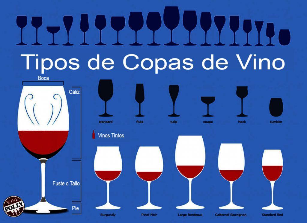 La importancia de la Copa de vino utilizada para degustar un buen vino. Utilizar el recipiente adecuado permitirá percibir las propiedades y características con más intensidad.
