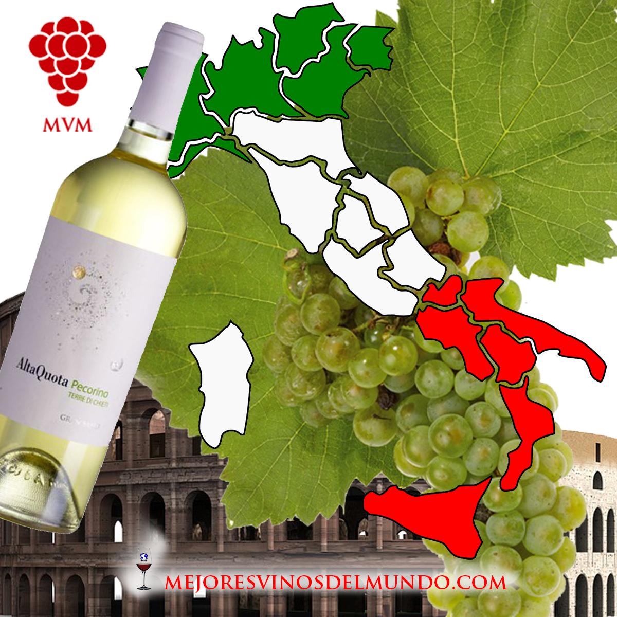 La potencia de los vinos italianos marida perfectamente con la singular y potente gastronomía italiana.