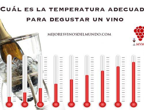 Cuál es la temperatura idónea del vino