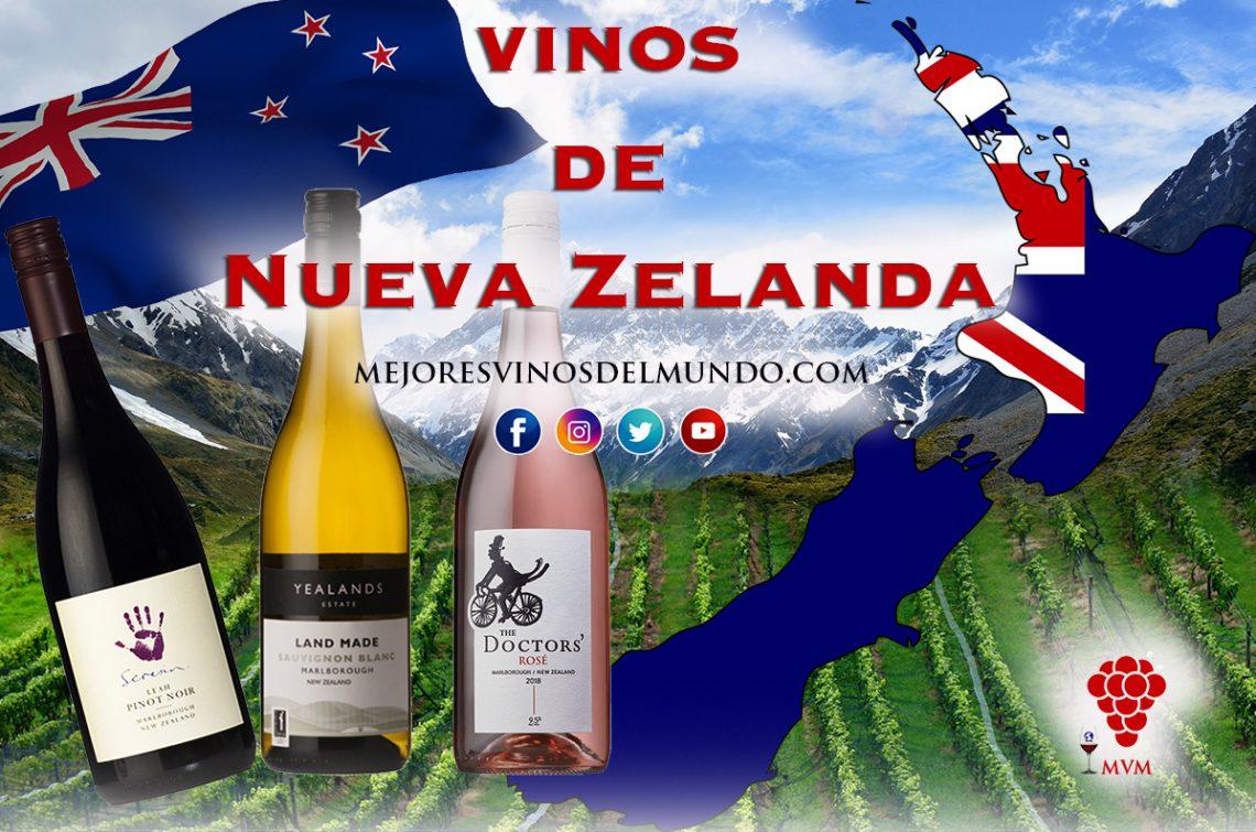 Los vinos neozelandeses Son los últimos en aparecer pero ya son reconocidos a nivel mundial.