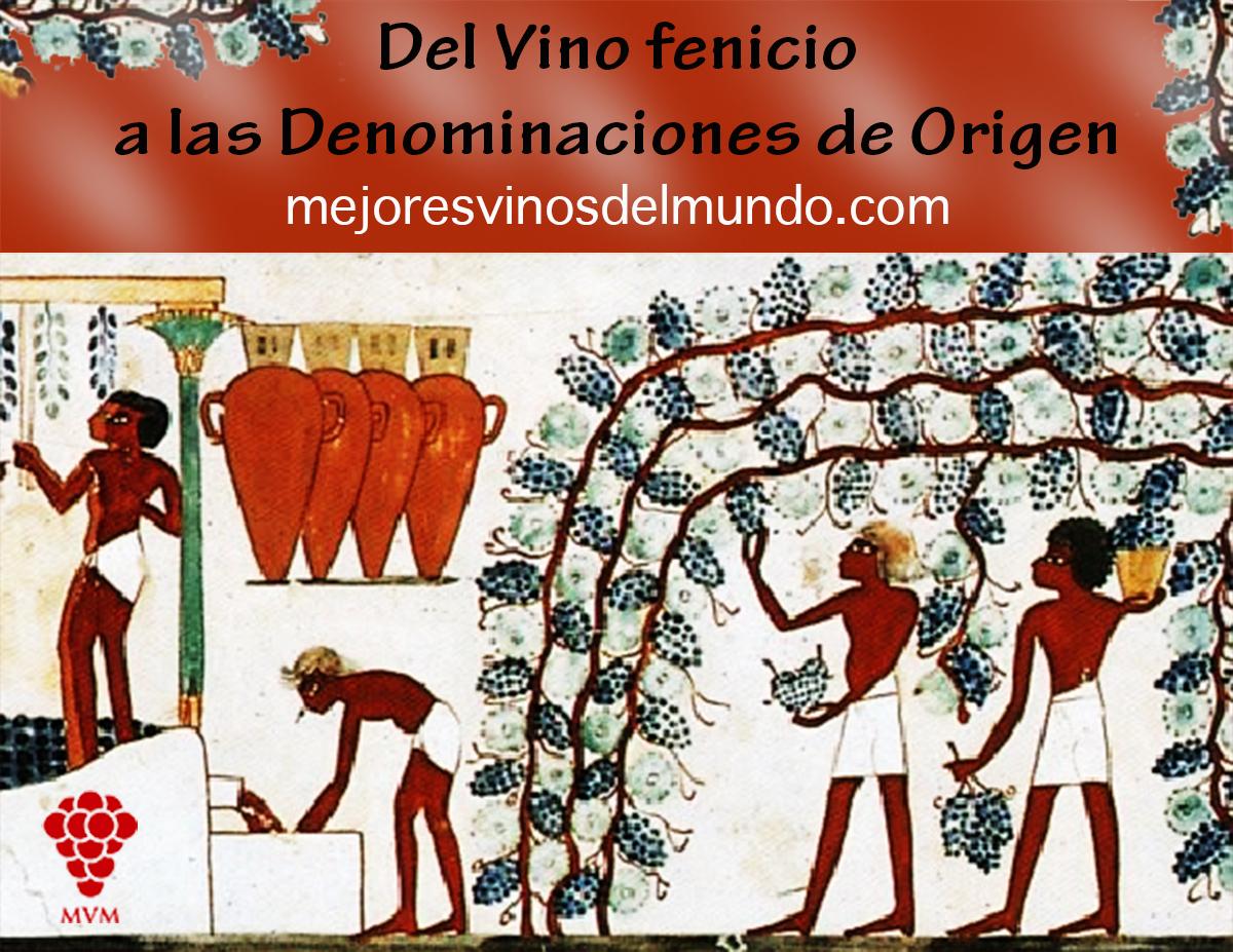 El vino se introdujo en España por Cádiz por los comerciantes fenicios hace hace más de 3000 años