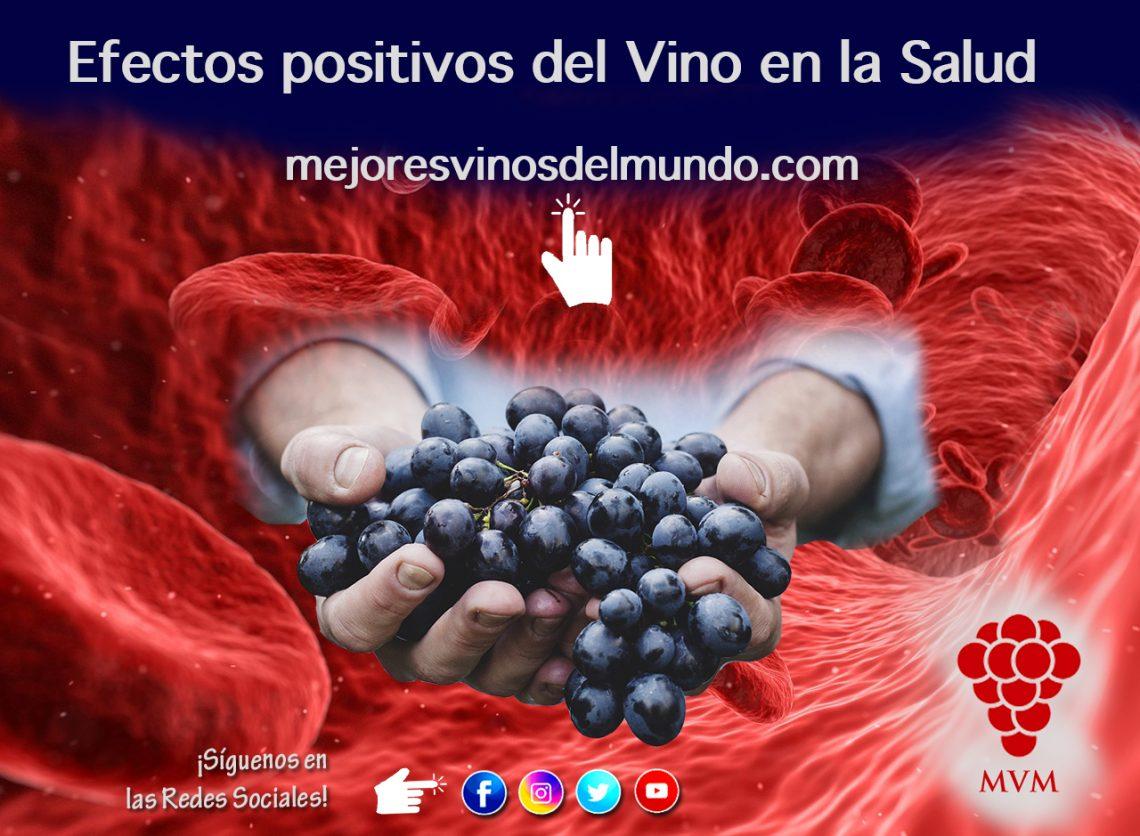 Efectos positivos del vino en la salud