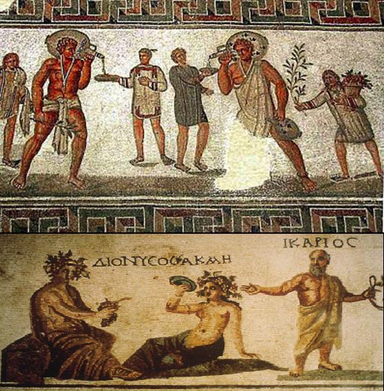 El vino ha estado presente en las distintas civilizaciones. Y en época de los egipcios hay datos de su consumo.