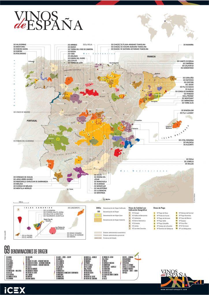 Desde la primera Denominación de Origen del vino que se dio en España en 1925 a La Rioja, han proliferado en número pero también en Calidad. Hoy España es el segundo productor de vino del mundo y sus vinos son reconocidos internacionalmente.