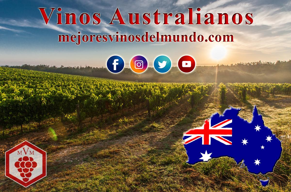 los vinos australianos, grandes desconocidos en el mundo.