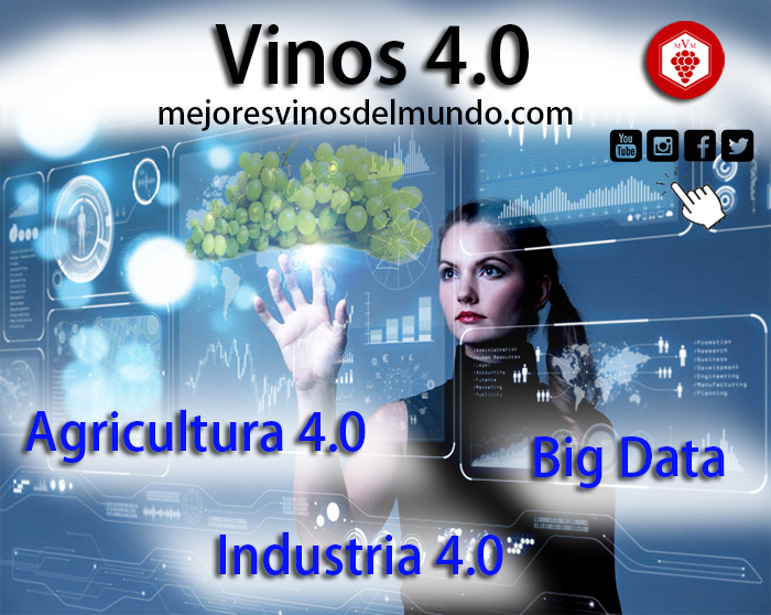 Vinos 4.0, Agricultura 4.0, industria 4.0 o el Big Data aplicado al sector vitivinícola optimizan los procesos y los recursos.