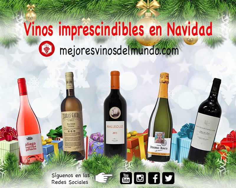 Vinos imprescindibles para Navidad es una selección de vinos para impresionar a tus comensales por exigentes que sean