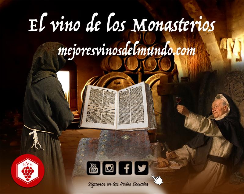 El vino en los monasterios medievales fue uno de los principales recursos que aportaron a aquella sociedad.