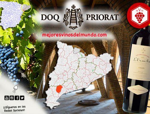 Los grandes vinos del Priorat son ahora internacionalmente reconocidos y valorados.