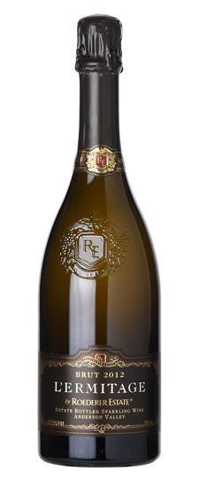 El vino californiano Brut Anderson Valley L,Ermitage 2012 se ha aupado con la quinta posición del ranking Wine Spectator 2019.