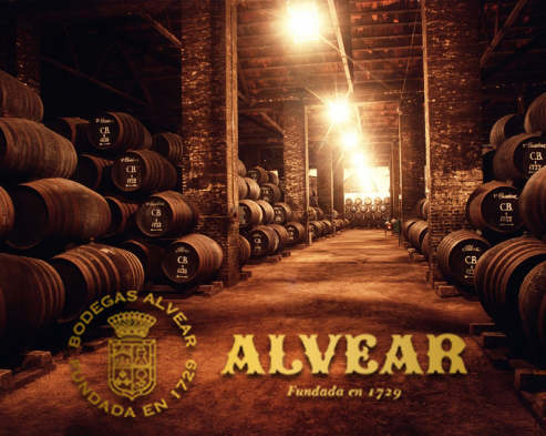 La tercera bodega más antigua de España está en Montilla, Códoba y y fue fundad en 1729 Por Diego de Alvear que dio su apellido a la bodega.