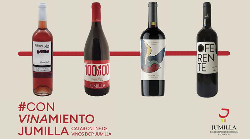 Vinos de la variedad Monastrell que se cataran online por Luis Paadin desde DOP Jumilla.