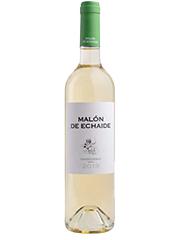 Malón de Echaide Chardonnay blanco de 2019. Un vino afrutado con intensidad. Vino y lectura, no hay mejor combinación.
