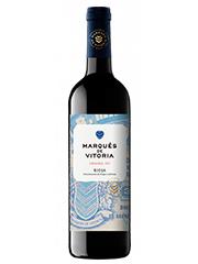 Marqués de Vitoria Crianza 2017 es un vino cálido y afrutado. De madera bien integrada y generoso.