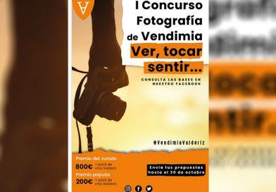 """Concurso de Fotografía de Vendimia """"Ver, tocar, sentir"""""""