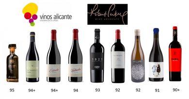 DOP Alicante en la lista de Parker
