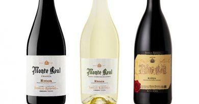Puntación de James Suckling de los vinos Monte Real
