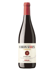 Este rioja color picota de Carlos Serres 5 Barricas Reserva 2014 ha acompañado a nuestra barbacoa de hoy. Un vino muy elegante.