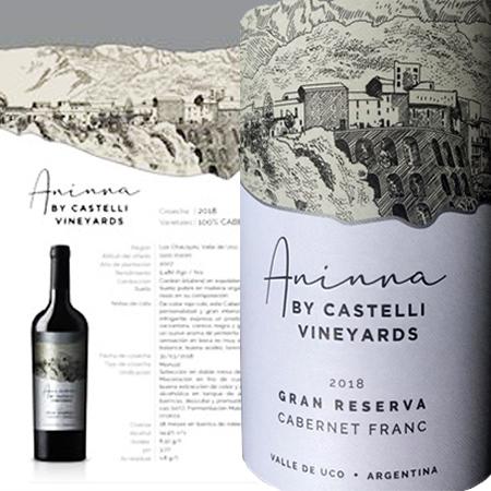 Beber, Honrar y Trascender en etiquetas de vinos es Celebrar a la Abuela Aninna en cada descorche pues en su honor tiene el nombre el viñedo y la mejor cosecha.