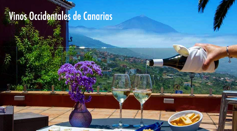 Vinos occidentales de Canarias están compuestos por las islas de la Proviencia de Tenerife. Los vinos de las cinco DO de Tenerife más las pertenecientes a cada una de las islas de La Palma, La Gomera y El Hierro