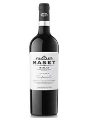 Crianza Rioja Maset. Un vino moderno, sutil y elegante para celebrar la festividad dela Inmaculada.