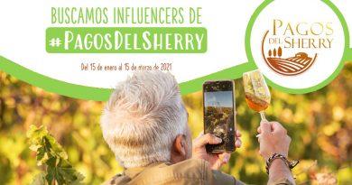 """Se buscan influencers de """"Pagos de Sherry"""" con el fin de dar a conocer La Ruta del vino y Brandy del Marco de Jerez y el proyecto de desarrollo turístico y puesta en valor de los viñedos de la campiña jerezana."""