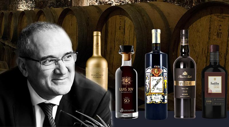 Cata de 5 Fondillones DOP Alicante, seleccionado por Pedro Ballesteros Torres, experto de reconocido prestigio internacional.
