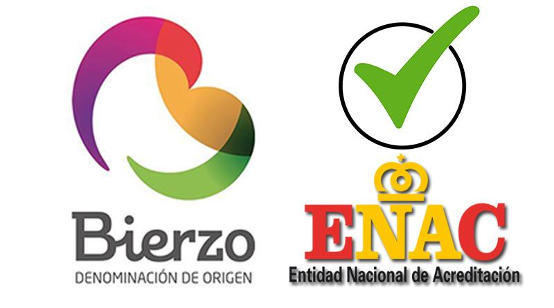 DO Bierzo con Acreditación ENAC que garantiza la calidad de todos las entidades que la componen.