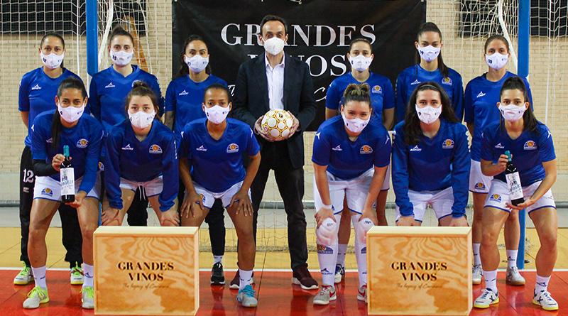 Grandes Vinos se suma al Fútbol Sala Zaragoza apoyando al deporte en general y al femenino en particular con este proyecto.