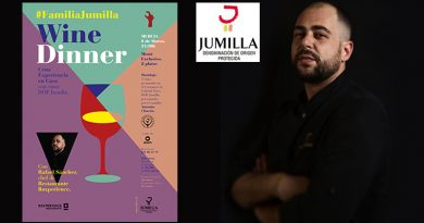 Los Chefs con los mejores vinos Jumilla maridarán en una serie de cenas experienciales con sus mejores platos.