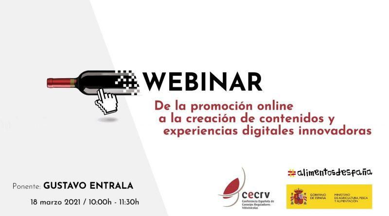 CECRV y el Ministerio impulsan la innovación digital a través del webinar dirigido por el conocido experto en diseño Gustavo Entrala. El evento tendrá lugar el próximo 18 de marzo de 2021