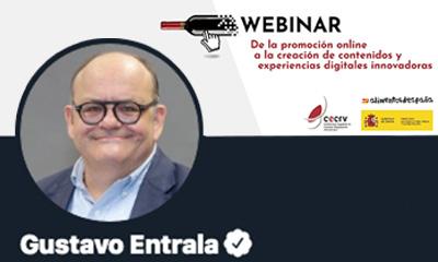 CECRV y el Ministerio impulsan la innovación digital a través de un webinar dirigido  por Gustavo Entrala. Experto en diseño, marcas y startups.
