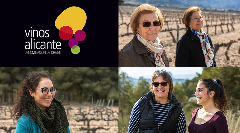 Mujeres, viñas y vinos en Alicante es un polinomio habitual en esta DOP. La ilusión, la lucha, la historia y el compromiso con el vino hace de estas mujeres principales valedoras de la viticultura.