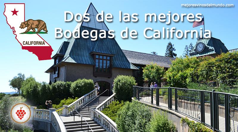 Dos de las mejores bodegas de California son sin duda la de Robert Mondavi y la de Francis Ford Coppola. Son iconos del valle de Napa en California.