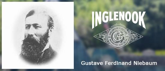 Una de las Dos de las mejores bodegas de California la fundo el Capitán finlandés Gustave Niebaum que llegó a San Francisco a finales del S.XIX cuando compró los viñedos Inglenook.