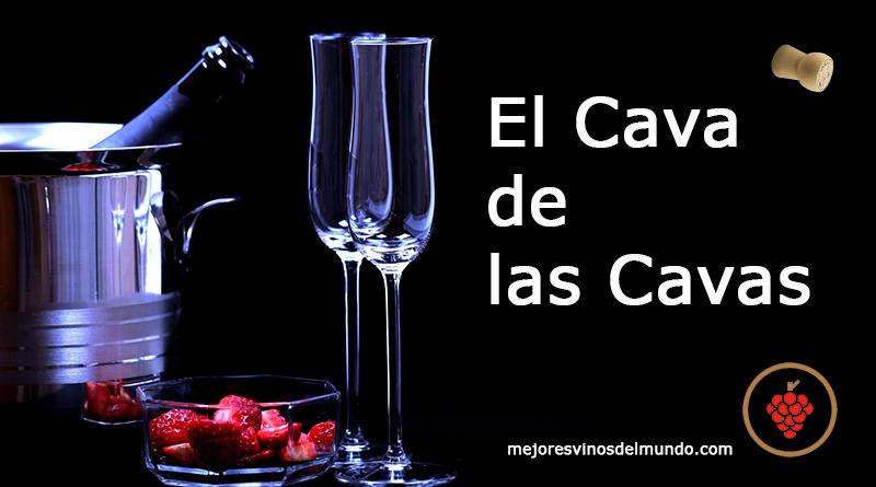 El Cava de Las Cavas de Cataluña da origen a la Denominación de Cava en España. La cava es la bodega donde se elabora y custodia el vino espumos.