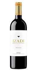Izadi Crianza es un vinocon una gran personalidad. Aromático con notas a regaliz y el recuerdo de la madera.